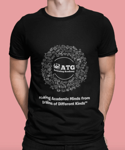 Circle-Black-T-Shirt-Model